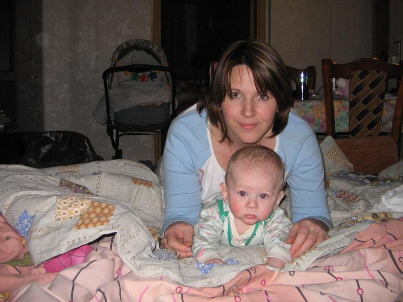 Я с сыночком (4 месяца)