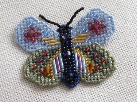 Бабочка - набор Mill Hill - первая вышивка бисером, можно сказать тренировочная, потом уже было сердечко и надеюсь будут ещё такие вышивки.