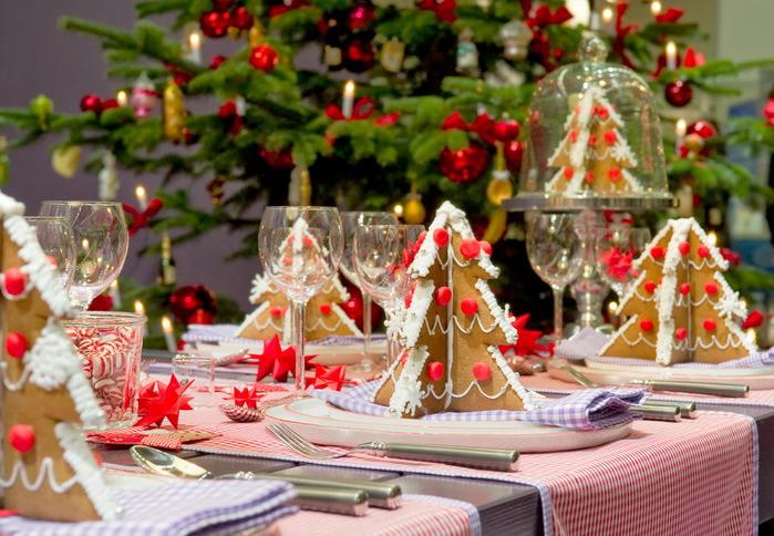 Идеи украшения Новогоднего стола
