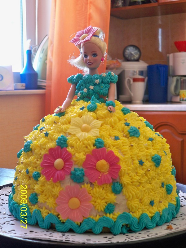 торт для девочки 7 лет фото