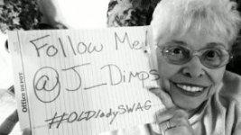 80-летняя бабушка из Твиттера