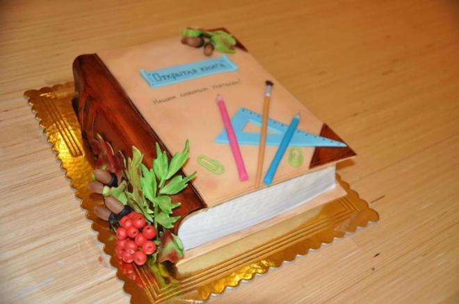 Торт на день учителя 2013 год