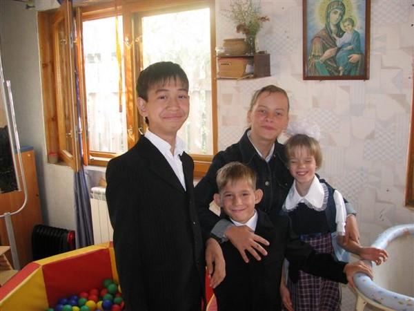 1 сентября 2009 г. Верины ученики