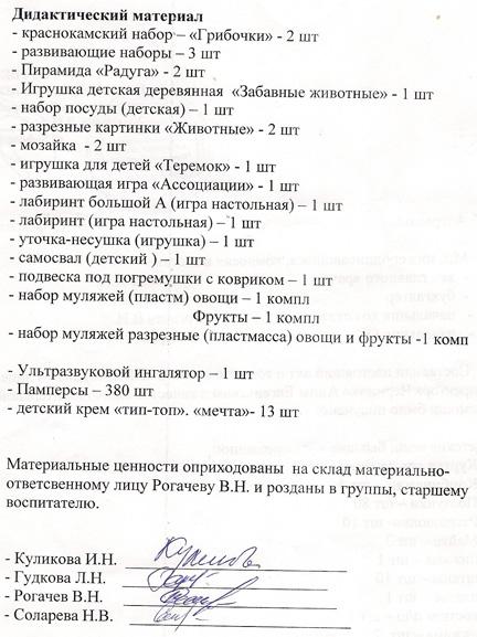 окончание акта СДР№ 3 за февраль 2010 г.