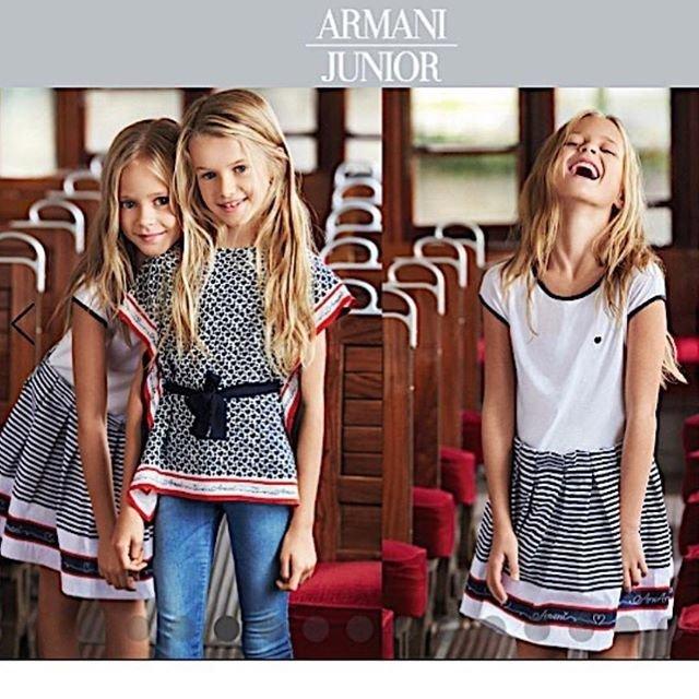 Лицом бренда Armani стала 9-летняя школьница из Красноярска