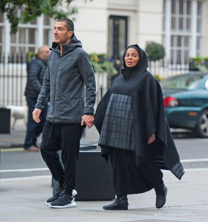 Джанет Джексон в мусульманском наряде