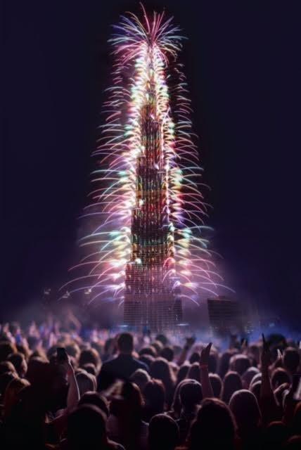 Чем удивит Новогодний салют в Дубае в 2017 году