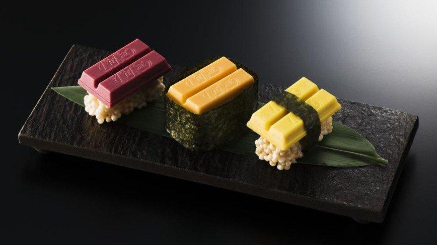 Шоколадные суши для сладкоежек
