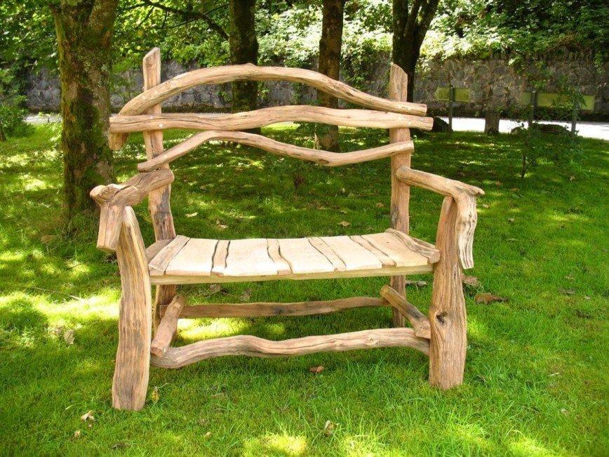 Как сделать скамейку для дачи: оригинальные идеи