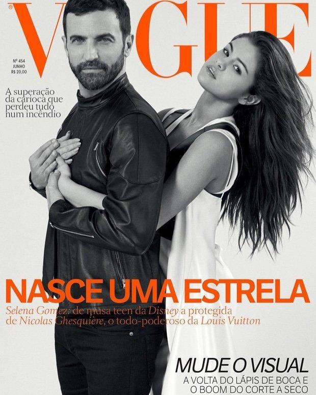 Селена Гомес в Vogue Brazil
