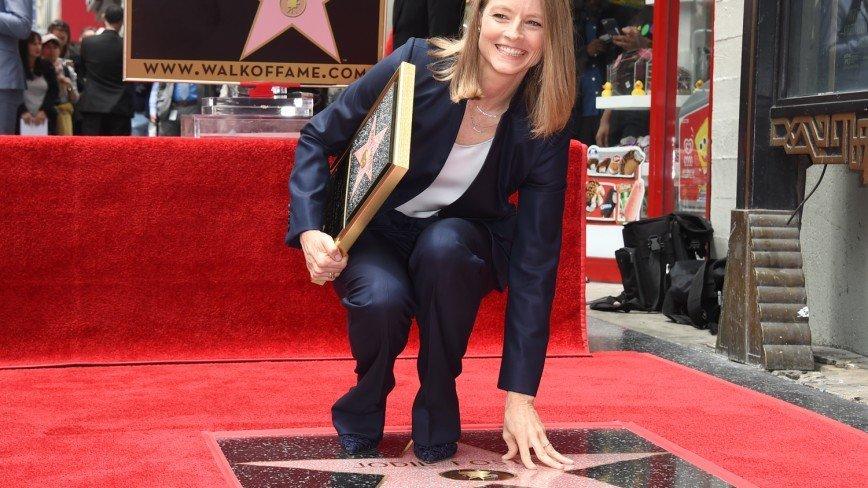 Джоди Фостер получила звезду на голливудской Аллее славы