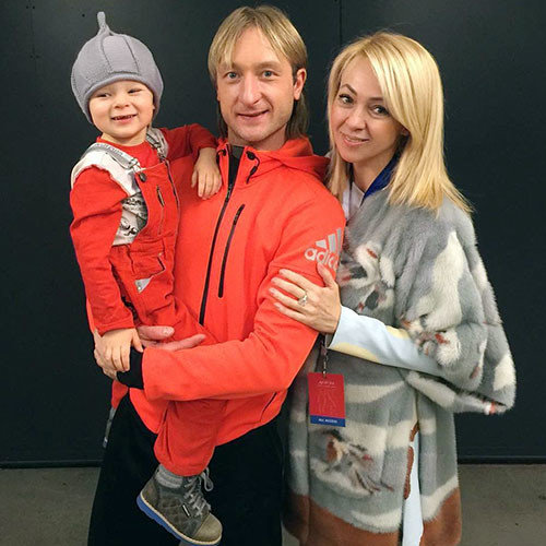 Трехлетний сын Плющенко и Рудковской заработал свой первый миллион