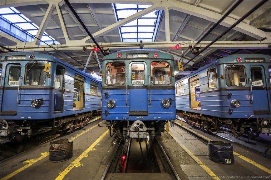 Парад поездов пройдет в Московском метро