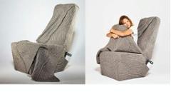 Креативное осенне-зимнее кресло