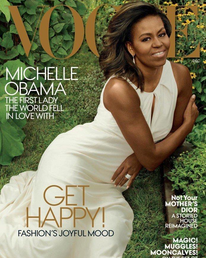 Мишель Обама - прощальная фотосессия в Vogue