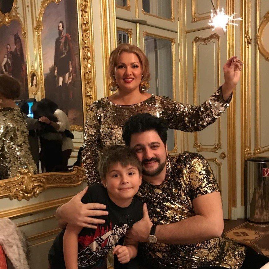 Как российские звезды встретили Новый год