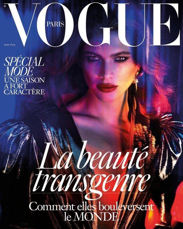 Красота трансгендера потрясла Vogue