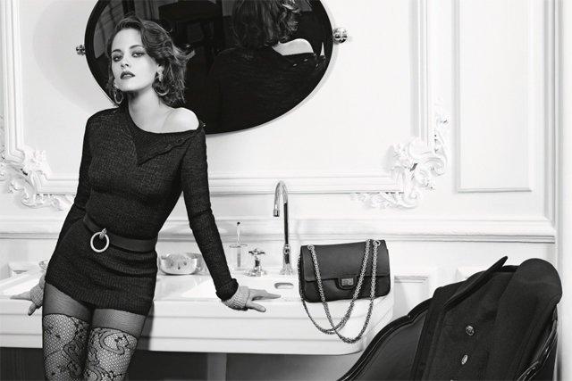 Кристен Стюарт стала лицом новой рекламной кампании Chanel