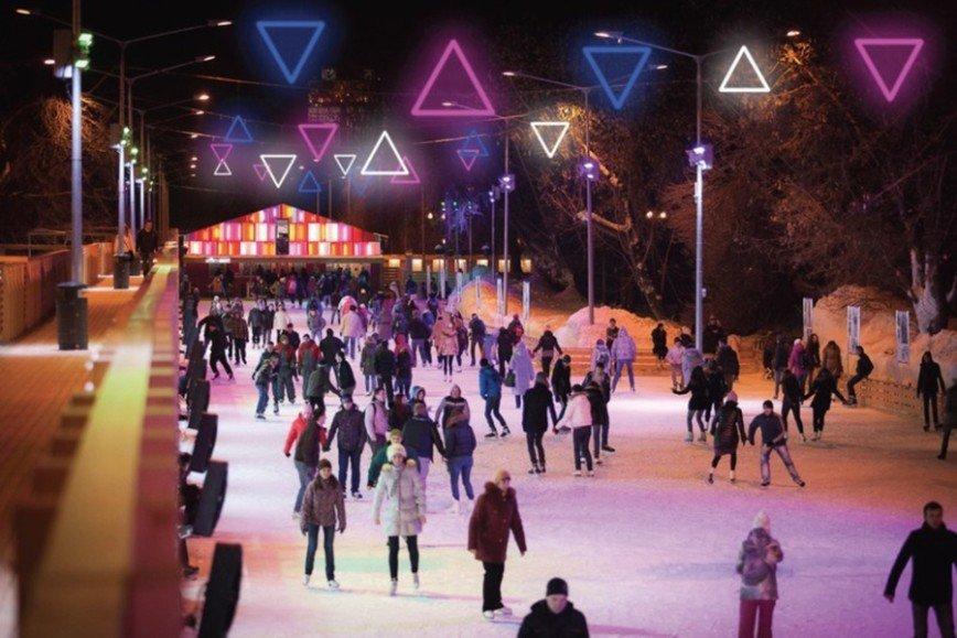Парк Горького приглашает на каток
