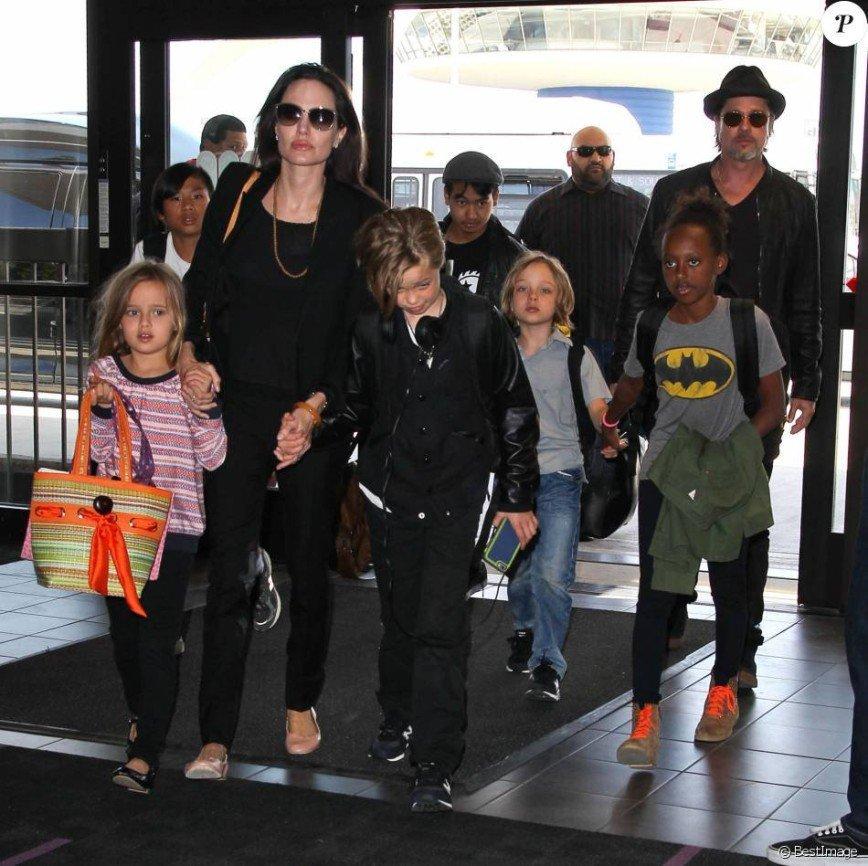 Анджелина Джоли и Брэд Питт наконец-то договорились