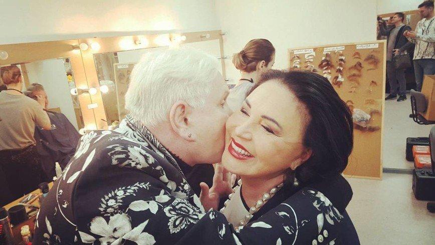 Надежда Бабкина помогла 63-летнему Борису Моисееву