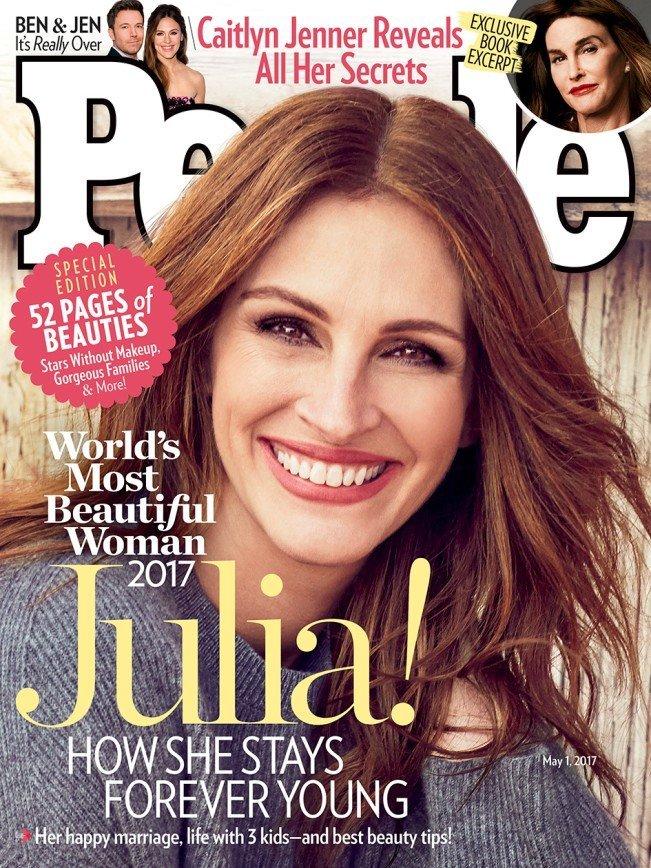 49-летняя Джулия Робертс стала самой красивой женщиной года