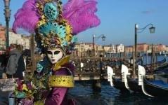 В Венеции проходит самый вкусный в мире карнавал