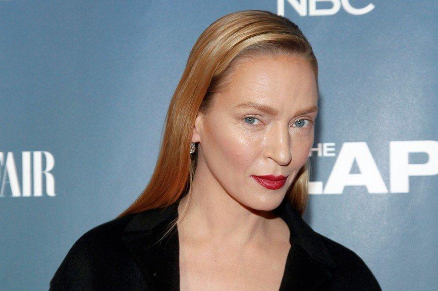 45-летняя Ума Турман беременна?