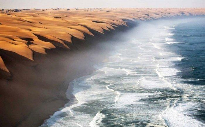 Удивительные фотографии, над эффектами которых потрудилась сама природа