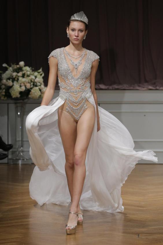 Свадебные платья для смелых невест