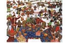 Широкая Масленица в Коломенском