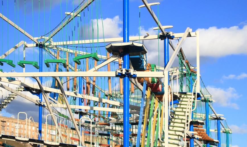 В парке Победы на Поклонной горе откроется верёвочный городок