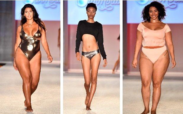 Показ с участием  plus-size моделей обвинили в пропаганде ожирения