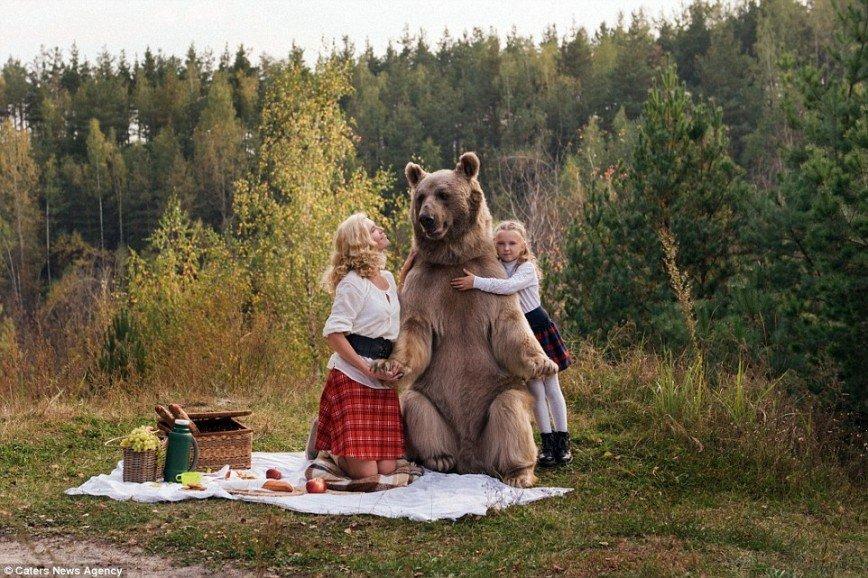 Картинка с медведями по россию
