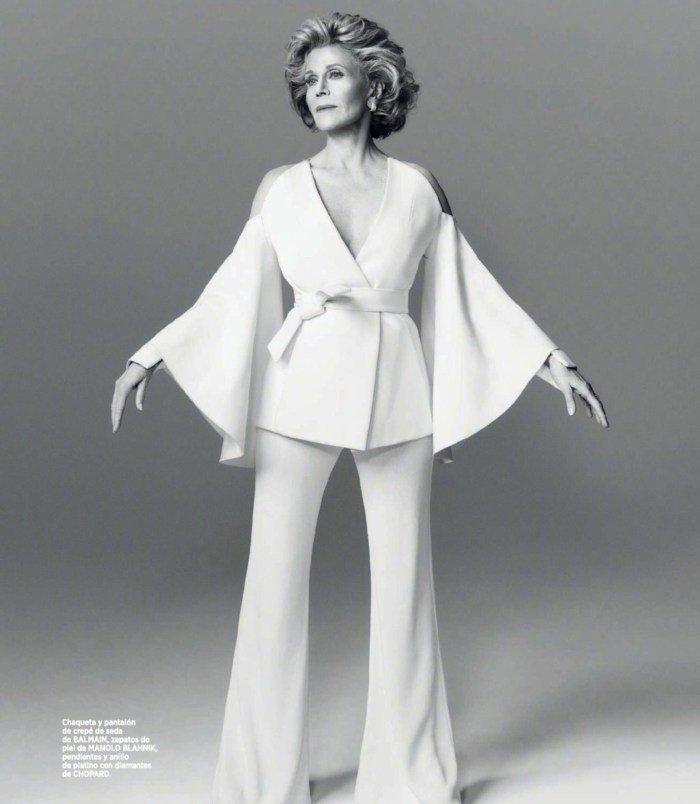 79-летняя Джейн Фонда хороша в любом наряде: