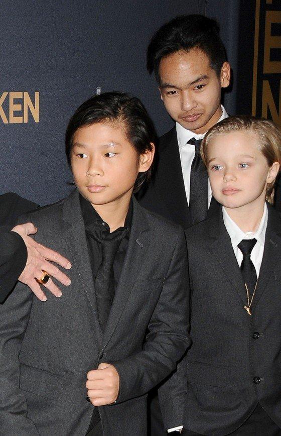 Джоли и Питт могут потерять двоих приёмных детей