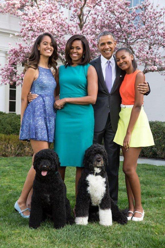 15-летнюю Сашу Обаму запечатлели в бикини