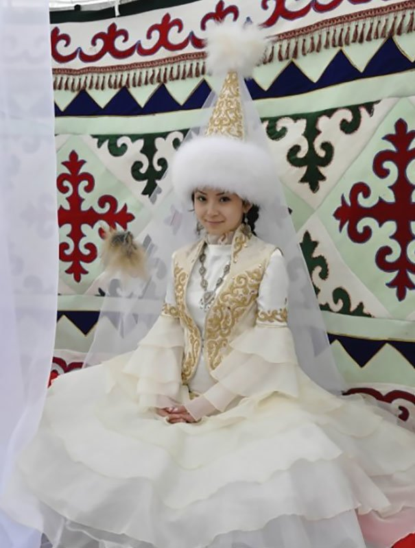 Традиционные свадебные наряды разных стран