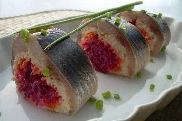 Блюдо с политическим подтекстом - селедка под шубой