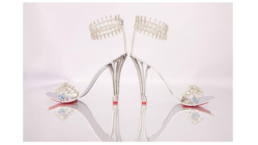Бейонсе приобрела пару обуви, украшенную 1290 бриллиантами