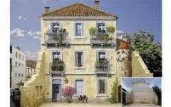 Необычные фасады домов Франции
