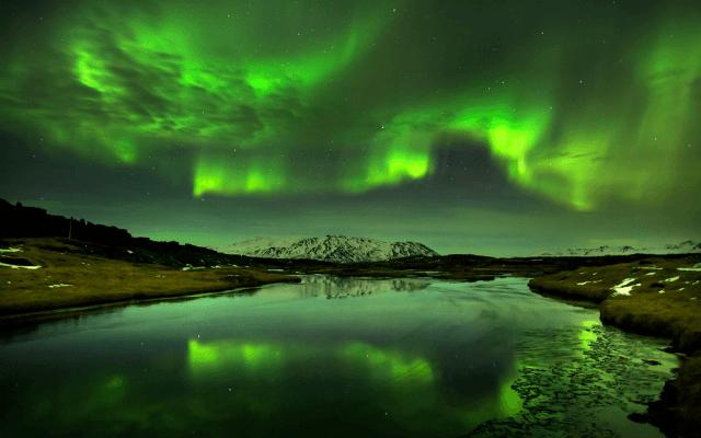 Туристам в Норвегии компенсируют отсутствие северного сияния