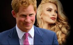 Принц Гарри встречается с русской моделью
