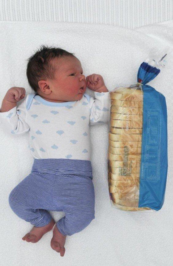 Австралийка родила малыша с рекордным весом