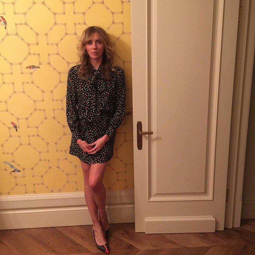47-летняя Бондарчук показала  идеальные ноги