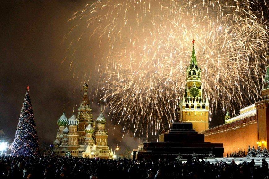 Открытки новому, картинки с новым годом москва