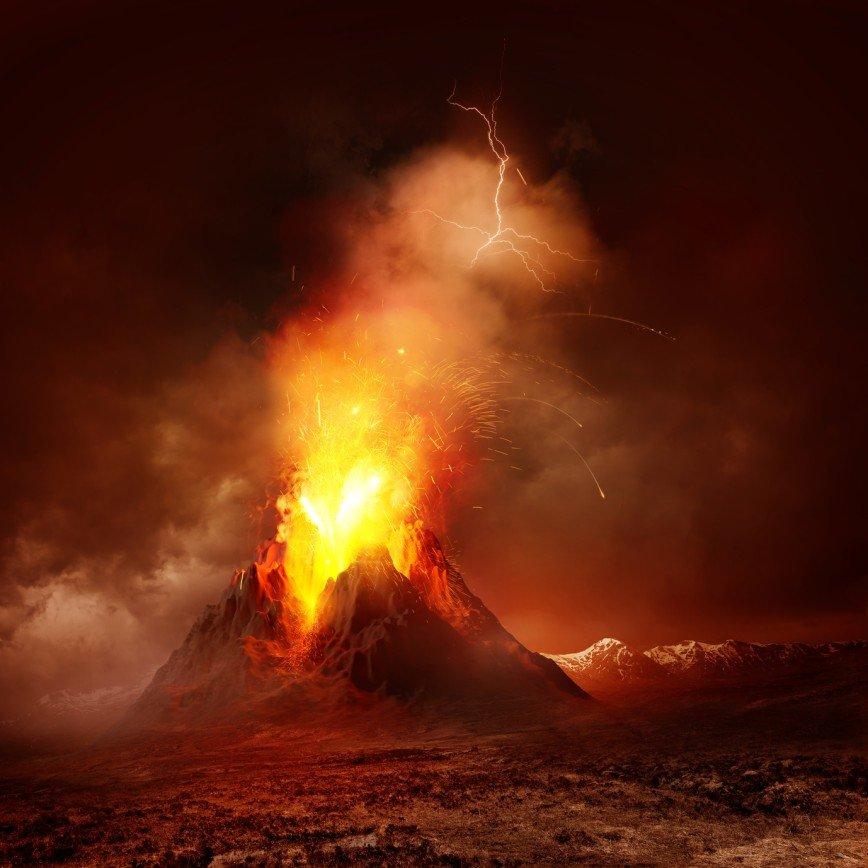 Мир на грани апокалипсиса - вулканы просыпаются