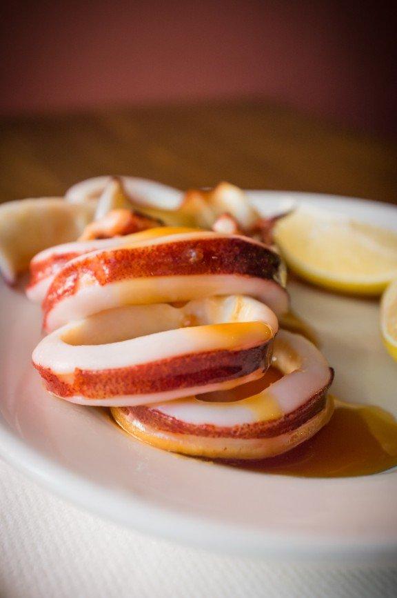 Семейные рецепты - кальмары в соевом соусе