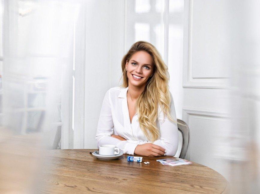 Юлия Ефимова стала лицом новой рекламной кампании Orbit