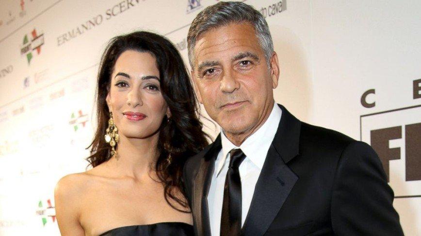 Джордж и Амаль Клуни вскоре станут родителями